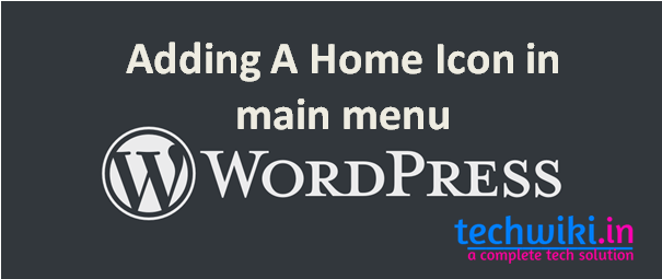 How To add icons to menu wordpress using simple codes