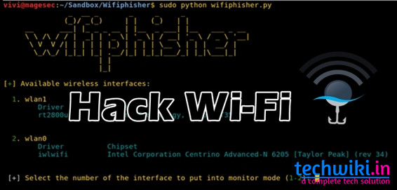 How To Hack Wi-Fi Password Without Cracking By Using Wifiphisher