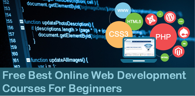 List Of Free Best Online Web Development Courses For Beginners