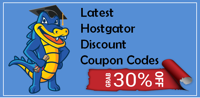 Latest Hostgator Discount Coupon Codes For November 2017 upto 75%