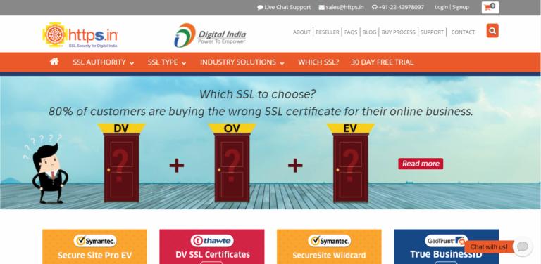 Best SSL Certificate Provider – HTTPS.in Review