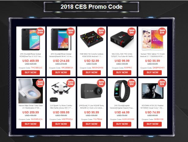 2018 CES Promo Code