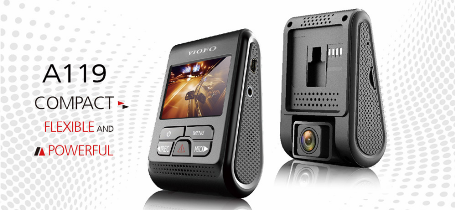 VIOFO A119 Car Dash Camera