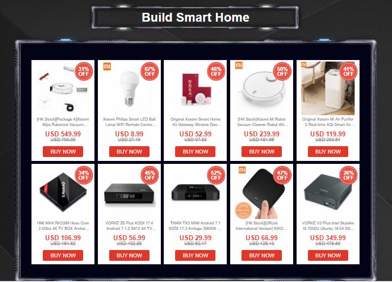 Build Smart Home