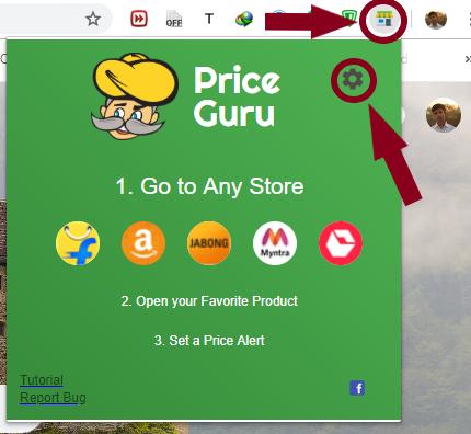 Setup price guru plugin
