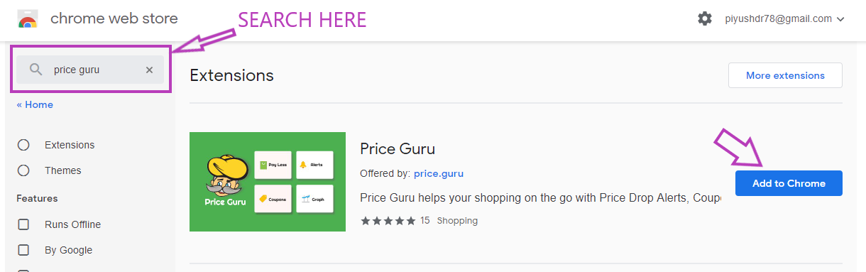 Install Price guru