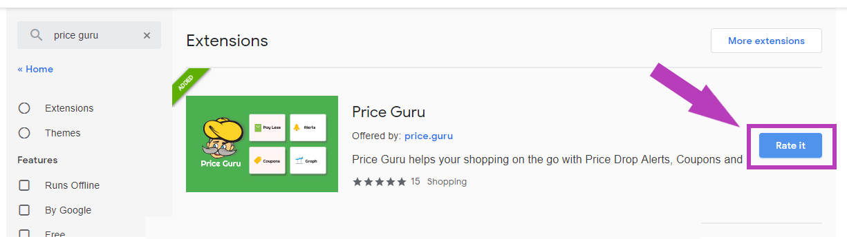 price guru rate