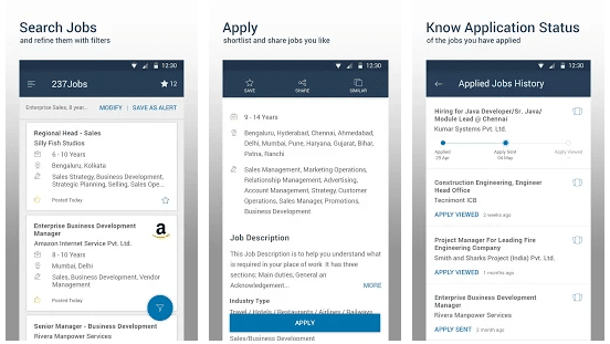 naukri job search app