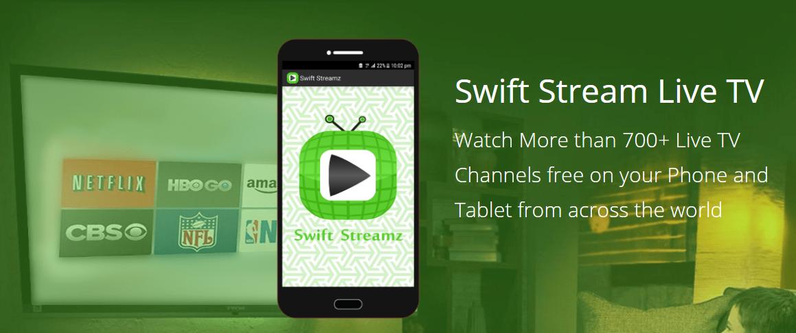 Swift Streamz | alternative to mobdro