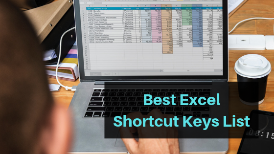 Best Excel Shortcut Keys List