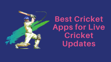 Best Cricket Apps for Live Cricket Updates