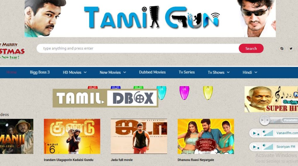 TamilGun Proxy sites