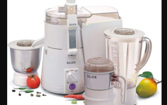 Sujata Dynamix Dx 900-Watt Mixer Grinder With 3 Jars
